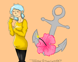 Honey, that jumper is far to ugly and big by tashstar
