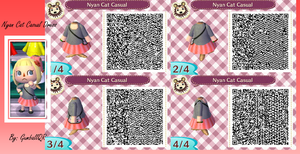 Nyan Cat Casual Dress by GumballQR