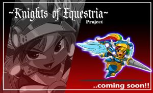 Mlp KNIGHTS OF EQUESTRIA Rainbow Dash teaser by ShoNuff44