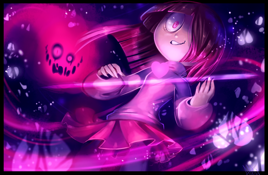Bete Noire (Betty) - GlitchTale by WalkingMelonsAAA