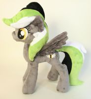 Graphite Sketch Plushie by Yukamina-Plushies