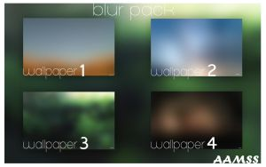 BlurPack #1 by AAMSS