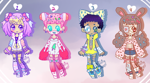 Decora Adopts [CLOSED] by hello-planet-chan