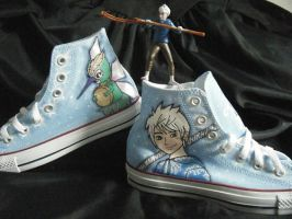 Rise of the Guardians shoes commission part 1 by Maritzy