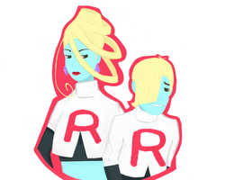Team Rocket by evecch