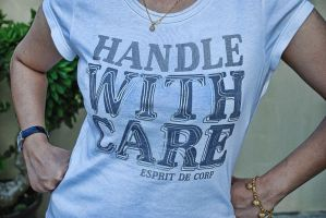 handle with care by kluxorious