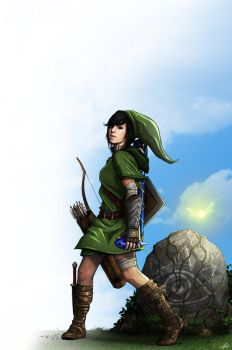 Christina Grimmie - The Legend of Zelda by BradyGoldsmith