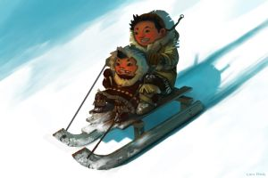 sledding by phongshader