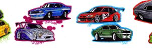 fast and furious pt2 by KrisDiaz