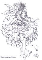 Visual LOlita:Contest Lineart by Estheryu
