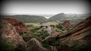 Red Rocks.. by candysamuels