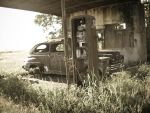 Old Gas Station III by cfish87