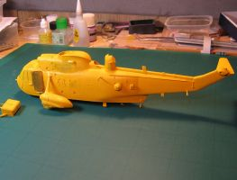 Westlan Sea King HAR3 wip 60 by marek1101