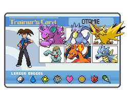 OTAMIE TRAINER CARD by Otamie