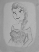 Queen Elsa of Arendelle by RMS-OLYMPIC
