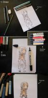 Step by step: PaperChild by MlleLowra