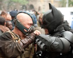The Dark Knight Rises Promo HD! (Bane and Batman) by MarkMajor