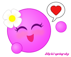 Lily-Vector Emote by spring-sky