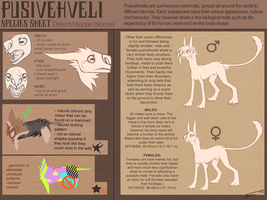 Pusivehveli Species Sheet (NOW OPEN SPECIES) by Tikrekins