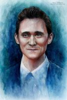 Tom Hiddleston by MeduZZa13
