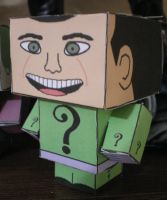 Cubee BATMAN 60'S TV Riddler by njr75003