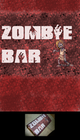 Birthday Zombie Chocolate Bar by Tux-t-penguin