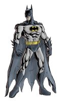 The Dark Knight - colored by phil-cho