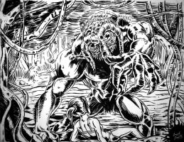 Man-Thing by Grant-Leon-Smith