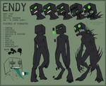 Endy OC ref sheet by LiLaiRa