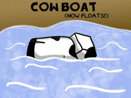 029- Cow Boat by Garakow