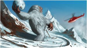 Abominable Snowman by Davesrightmind