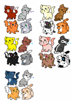 Free Adopts by CaptainBo0ty