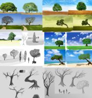 20 trees by betasector