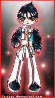 Jin- Extra Costume by Crissey by ChibiArt-Club