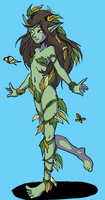Dryad girl by Shabazik