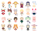 Daisy PixelWall 3.0 (300%) by Zilverlovely