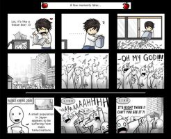 Death Note: L Gets an Idea. by SilentReaper