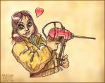 The girl who loved tools by fabianfucci