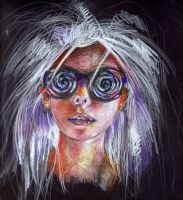 Girl with Hypno Goggles by Joshua-Mozes