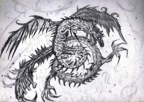 Twisted Dragon II by CRYPTOXEER-IV