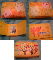 CHRISTMAS PRESENTS! -- Kagamine Rin and Len wallet by PrettyWitchDoremi