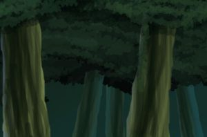 Naruto Background Forest by 0xayumix0