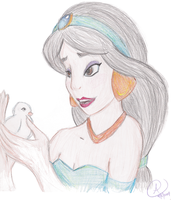 princess jasmine by alaisiaga