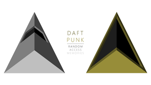 Daft Punk | Random Access Memory Triangles WP by ropa-to