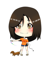 : me in chibi version: by CupCake-Hime