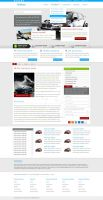 Car Insurance web design by mcwebalizer