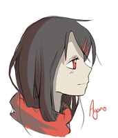 Ayano Doodle by Rosurin