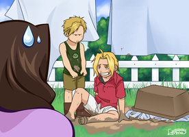 FMA - I Only tried to help... by KinpatsuYasha