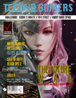 Techno Gamers 2nd cover revista by Megaraptoris