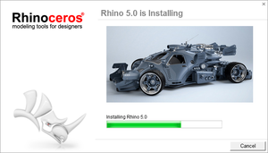 Rhino 5 Install Screen by popoff